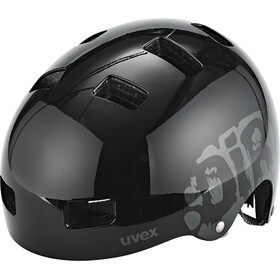 UVEX Kid 3 Helmet Barn dirtbike black